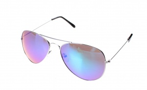 d76520224e1325 Lifetime-Vision sunglasses ladies silver with purple green mirror lens -  Internet-Eyewear