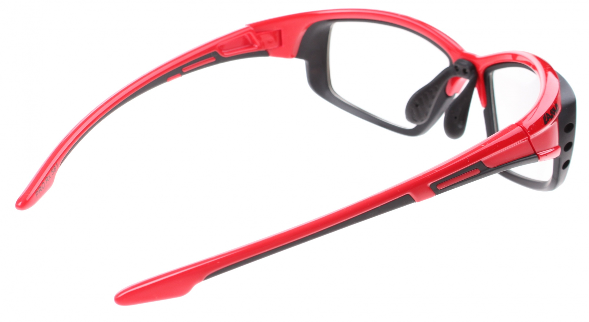 01c1a90443 Eassun bicycle glasses Pro RX Montura red   black clear glass ...
