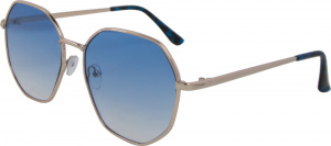 AZ-Eyewear sunglasses around cat. 3 gold/blue (5190-A)