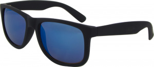 AZ-Eyewear sunglasses wayfarer cat. 3 matt black/blue (8240-C)