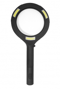Balvi magnifying glass with light Zoom 24 x 11.2 cm ABS black