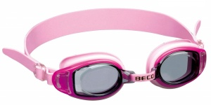 Beco swimming goggles Acapulcopolycarbonate girls pink