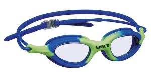 Beco swimming goggles Biarritzpolycarbonate junior blue/green