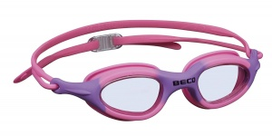 Beco swimming goggles Biarritzpolycarbonate girls pink/lilac