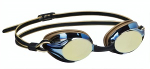 Beco swimming goggles Bostonpolycarbonate mirrored unisex gold