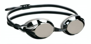 Beco goggles Bostonpolycarbonate mirrored unisex black/silver