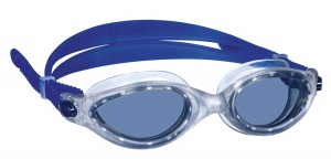 Beco swimming goggles Cancuncellulose propionate unisex dark blue