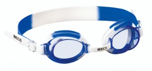 Beco swimming goggles Halifaxpolycarbonate boys white/blue