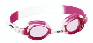 Beco swimming goggles Halifaxpolycarbonate girls white/pink