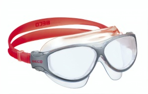 Beco goggles Natalpanorama junior grey/red