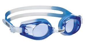 Beco swimming goggles Riminipolycarbonate junior blue/white