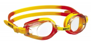 Beco swimming goggles Riminipolycarbonate junior yellow/orange