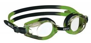 Beco swimming goggles Riminipolycarbonate junior green/black