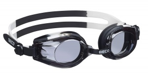 Beco swimming goggles Rimini polycarbonate junior black/white