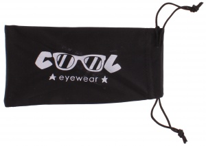 Cool Eyewear glasses case fabric 17 x 9 cm black