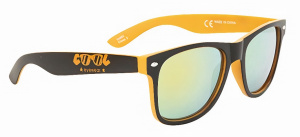 Cool Shoe sunglasses Rinconwayfarer unisex cat.3 black/orange