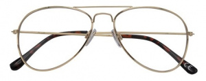 Croon reading Annglasses ladies gold/black
