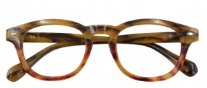 Croon reading glasses Bowiemultifocal brown/red