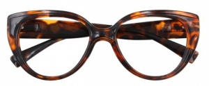 Croon reading glasses Butterflymultifocal ladies brown