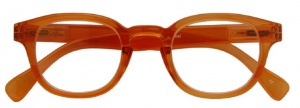 Croon leesbril Montel unisex oranje,00
