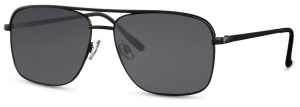 CWI sunglasses rectangular men's cat. 3 matt black/black