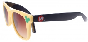 Disney Mickey Mouse sunglasses yellow 12 cm