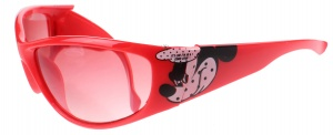 Disney Mickey Mouse sunglasses red 12 cm