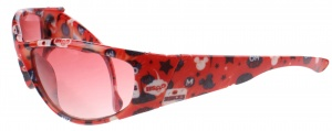 Disney Mickey Mouse sunglasses red text 12 cm