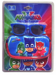 Disney zonnebril PJ Masks junior one-size blauw