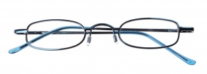 Dunlop reading glasses dark blue unisex