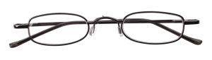Dunlop reading glasses dark gray unisex