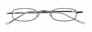 Dunlop reading glasses silver unisex