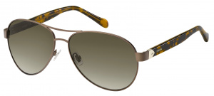 Fossil sunglasses FOS3079/Sladies matt brown/ brown