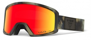 Giro ski glasses Block After Bang Vivid Ember male green