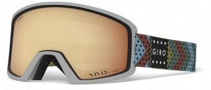Giro ski glasses Blok Mo Rockin Vivid Copper men's silver
