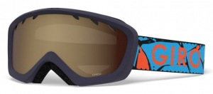 Giro ski glasses Chico 40% junior orange/blue