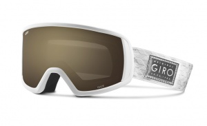 Giro ski glasses Gaze Amber Rose 40% ladies white