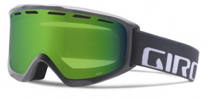 Giro ski glasses Index Titanium Wordmark Loden Green unisex grey