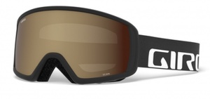 Giro ski glasses Scan Wordmark Amber Rose men black