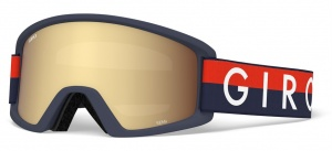 Giro ski glasses Semi Throwback Amber Gold/Yellow junior blue