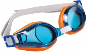 Happy People lunettes de natation junior 17cm orange