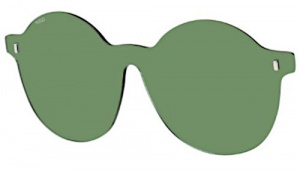 Hugo Boss spectacle lenses HG 1110 CL-On03 nylon green