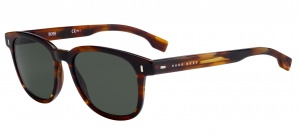 Hugo Boss sunglasses 0956/SEX4/QT men's brown/green