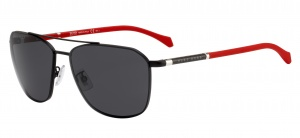 Hugo Boss sunglasses 1103/F/S003/IR men's black/grey