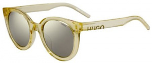 Hugo Boss sunglasses HG 1072/S ladies 52 mm yellow/grey