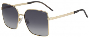 Hugo Boss sunglasses HG 1084/S ladies 59 mm gold/grey