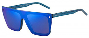 Hugo Boss sunglasses HG 1112/CS men 57 mm blue