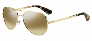Kate Spade sunglasses Avaline2ladies gold