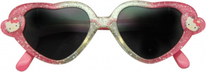 Kids Licensing sunglasses Hello Kitty girls pink/green one-size