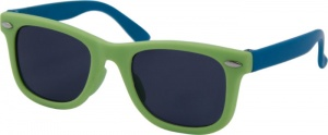 Kool-Kidz children's sunglasses boys soft green/blue